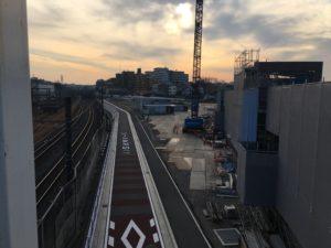 2017年12月 羽沢横浜国大新駅開発状況 2