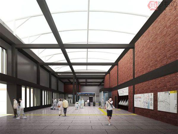 羽沢横浜国大駅の建設状況レポート