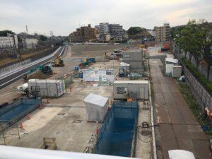 2017年5月 羽沢横浜国大新駅開発状況