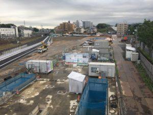 2017年7月 羽沢横浜国大新駅開発状況