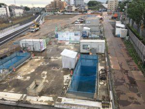 2017年7月 羽沢横浜国大新駅開発状況 2