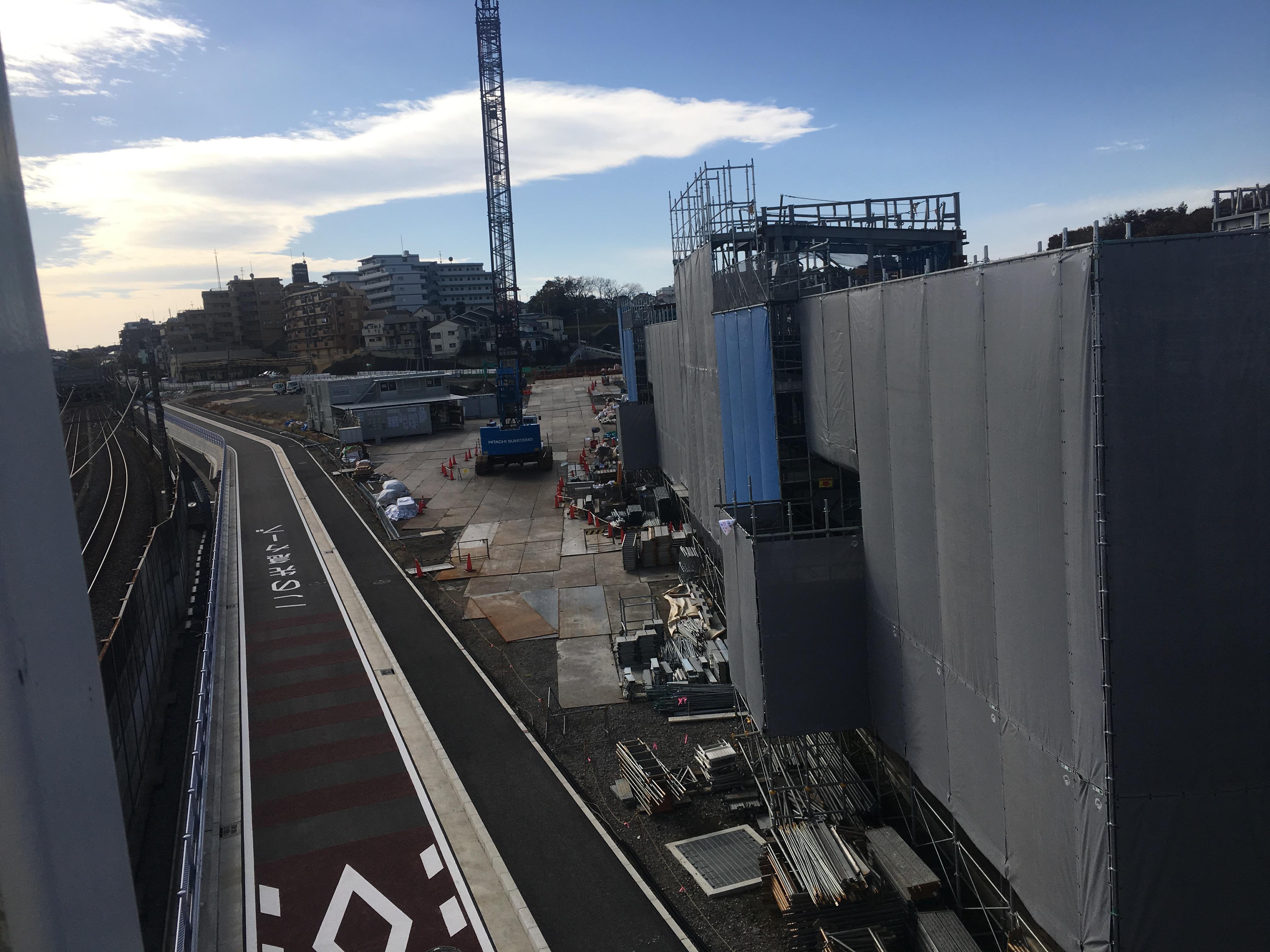 2017年11月 新駅開発状況
