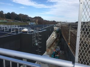2017年11月 羽沢横浜国大新駅開発状況2