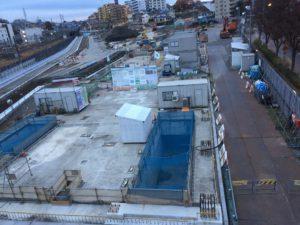 2016年12月 羽沢横浜国大新駅開発状況