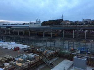 2016年12月 羽沢横浜国大新駅開発状況3