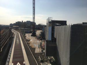 2018年1月 羽沢横浜国大駅開発状況2