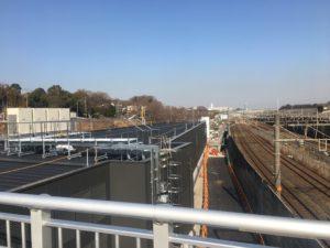 2018年1月 羽沢横浜国大駅開発状況4