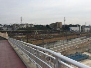 2016年10月 羽沢横浜国大新駅開発状況 2