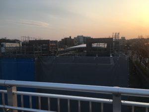 2018年2月 羽沢横浜国大駅開発状況2