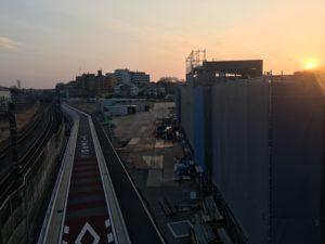 2018年2月 羽沢横浜国大駅開発状況