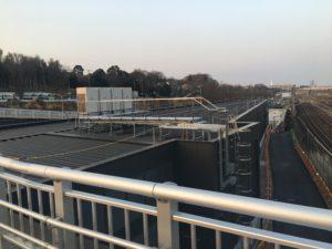 2018年2月 羽沢横浜国大駅開発状況5