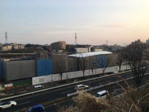 2018年2月 羽沢横浜国大駅開発状況3