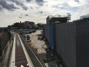 2018年3月 羽沢横浜国大駅開発状況