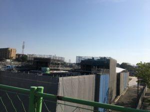 2018年4月 羽沢横浜国大駅開発状況4