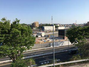 2018年4月 羽沢横浜国大駅開発状況3