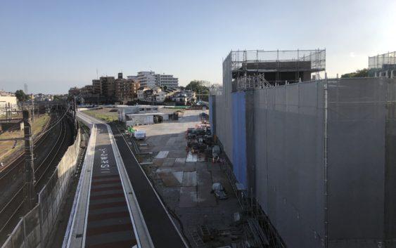 2018年5月 羽沢横浜国大駅開発状況