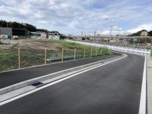 新駅横の市道5