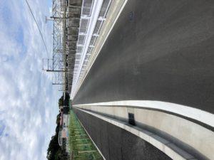 新駅横の市道4