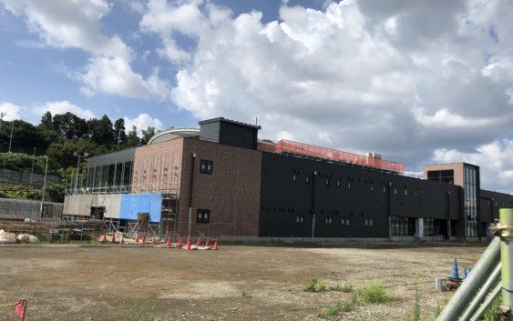 2018年7月 羽沢横浜国大駅開発状況