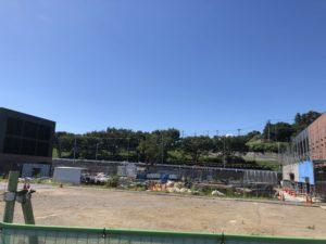 2018年8月 羽沢横浜国大駅開発状況4