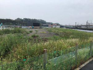 42018年9月 羽沢横浜国大駅開発状況