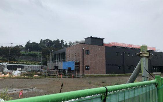 2018年9月 羽沢横浜国大駅開発状況1