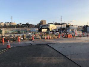 2018年10月 羽沢横浜国大駅開発状況5