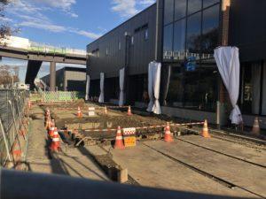 2018年11月 羽沢横浜国大駅開発状況