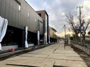 2018年12月 羽沢横浜国大駅開発状況