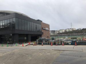 2019年1月 羽沢横浜国大駅開発状況