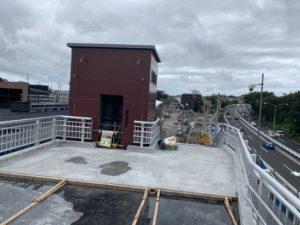2019年7月 羽沢横浜国大駅開発状況