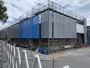 2019年8月 羽沢横浜国大駅開発状況