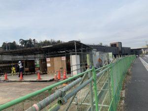 2020年2月 羽沢横浜国大駅開発状況