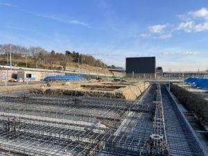 2020年12月 羽沢横浜国大駅開発状況