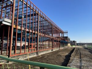 2021年1月 羽沢横浜国大駅開発状況