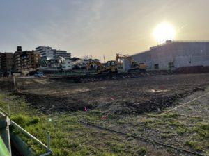 2021年3月 羽沢横浜国大駅開発状況
