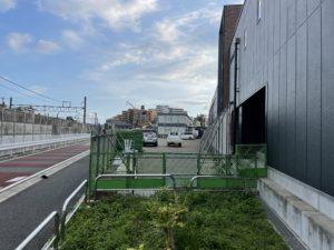 2021年7月 羽沢横浜国大駅開発状況