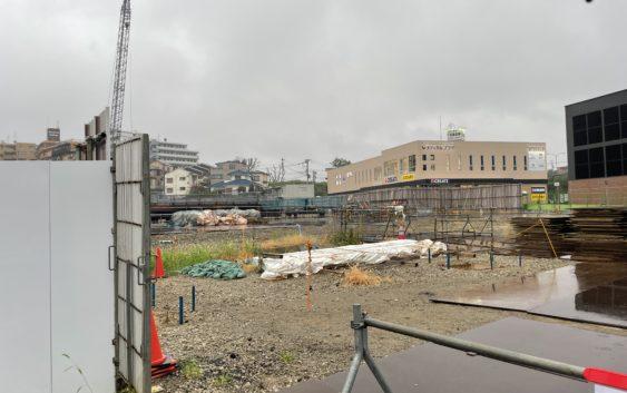 2021年8月 羽沢横浜国大駅開発状況