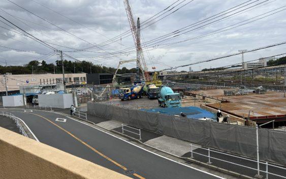 2021年9月 羽沢横浜国大駅開発状況